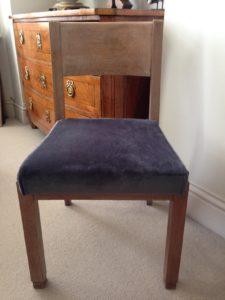 1940u0027s Desk Chair Front