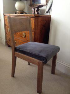 1940u0027s Desk Chair Side